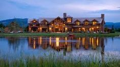 big houses in wyoming - Google Search