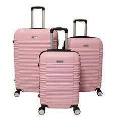 World Traveler California 3-piece Lightweight Hardside Expandable Spinner Luggage Set