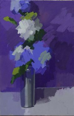 Blue & White Hydrangeas, No.2 by Philip Richardson