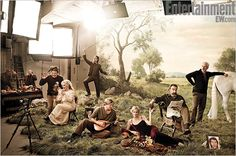 EW's 'Princess Bride' cast reunion photo. I love that they have pictures for Andre the Giant and Peter Falk but where is Fred Savage? I know he's not busy.