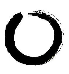 The Enso - a symbol of Zen and living a tranquil, healthy, and happy life.