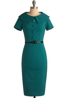 modcloth: bettie page, ambitious endeavor dress. size xs.