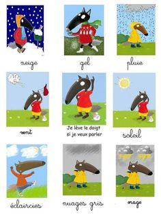 P tit Loup Wetter Collage Petite Section, Nursery Bookshelf, Wolf, French Language Lessons, Autism Activities, Montessori Activities, Cycle 3, Plant Nursery, Learn French