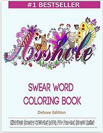 Swear Word Coloring Book PDF EPUB