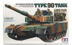 Japan Ground Self Defense Force Type 90 Tank Tamiya 89564 1/35 New Mod – Shore Line Hobby
