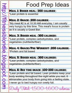 """How to plan your meals and food prep! This is essential for weight loss!  http://fitnessblondie.blogspot.com  Liz @ Fitness Blondie: Preview """"How to Plan Your Meals and Food Prep!"""""""