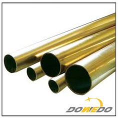 Round Seamless Brass Tubes, seamless brass tubing used for building, decoration / copper alloy tubing