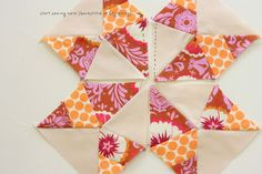 Texas Star Quilt Block Tutorial
