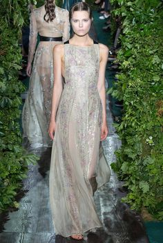 Valentino Fall 2014 Couture Fashion Show - Caroline Brasch Nielsen (Elite)