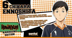 "I got ""Chikara Ennoshita"" on ""Which Haikyu!! Character Are You? [Karasuno Edition]"" What about you?"