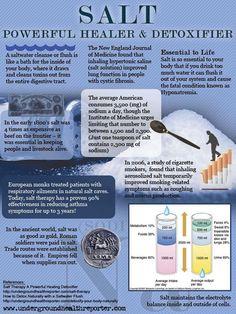 The healing benefits of salt water