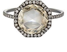 Double-Sided Diamond Ring Cathy Waterman, Barneys New York, Solitaire Ring, Designing Women, Beautiful Rings, Ring Designs, Wedding Bands, Bangles, Engagement Rings