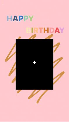 Happy Birthday Template, Happy Birthday Frame, Happy Birthday Wallpaper, Birthday Frames, Creative Instagram Photo Ideas, Instagram Photo Editing, Story Instagram, Instagram And Snapchat, Birthday Captions Instagram