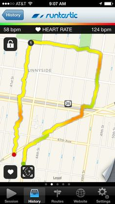 walking tracking app iphone