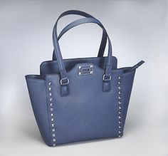 GTM-77 Blue Studded Tote (Available May 25, 2016)