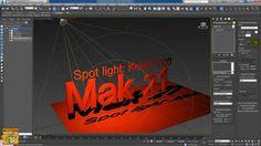 TextPlus 3ds Max 2016 Extension 1: Light kelvin