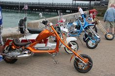 ISLE OF WIGHT SCOOTER RALLY 2013