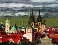 Golden Prague by Irina Kupyrova www.INMODERN.com