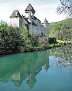 14th century Château de Cléron ~ Franche-Comté