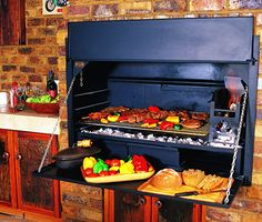 Super deluxe built in or free standing Braai, BBQ, Outdoor Fireplace Sizes from and 1500 mm Prices start from 1695 Also available . Built In Braai, Firewood Holder, Grilling, Bbq, Indoor, Exterior, Patio, Smoke, Barbecue