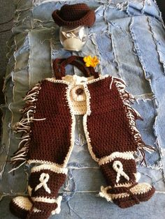 ee01812cfc9c2 14 Best crochet cowgirl sets images