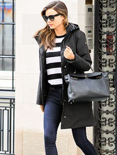 Star Tracks: Thursday, February 6, 2014   STREET SAVVY   Miranda Kerr, who was announced as the new face of H&M this week, struts her stuff on the New York City streets on Tuesday.