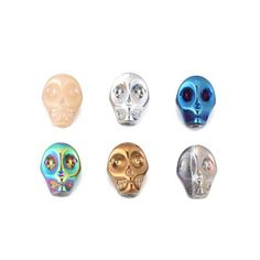 Jewelry Making Supplies, Jewellery Making, Beaded Skull, Wire Rings, Perfect For Me, Uk Shop, Color Show, Color Mixing, Jewelry Box