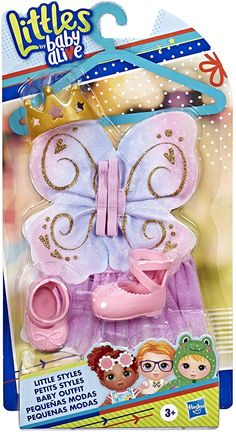Baby Alive Littles Little Styles Ballet Outfit for Littles Dolls Baby Dolls For Kids, Baby Girl Toys, Toys For Girls, Baby Alive Doll Clothes, Baby Alive Dolls, Bug Birthday Cakes, Little Mermaid Toys, Muñeca Baby Alive, Cool Fidget Spinners
