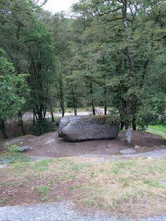 La Roche Tremblante à Huelgoat, Bretagne