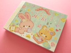 Kawaii Cute Mini Memo Pad *Secret Magic of Night2 patterns100 sheets Size : L 89 mm W 63 mmCondition…