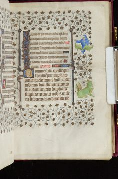 Book of Hours, MS M.919 fol. 38r - Images from Medieval and Renaissance Manuscripts - The Morgan Library & Museum