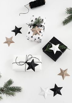 3D Paper Stars Printable - Homey Oh My
