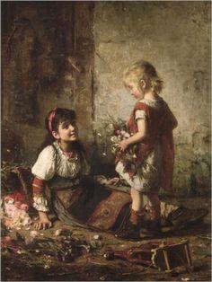 Alexei Alexeivich Harlamoff  Russian painter