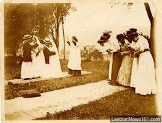 #vintage #retro #nostalgia #history #blackandwhite #life #photography #love #couple #wedding #lgbt #lesbian #snapshot #woman #portrait  www.lesbiannews101.com