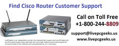 Find #Cisco #Router #Customer #Support: Call +1-800-244-8809