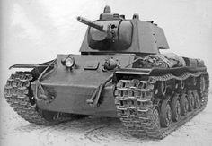 KV-1  Soviet  heavy tank WW  II