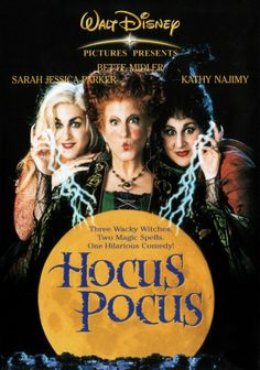 The 1993 film Hocus Pocus, starring Bette Midler, Sarah Jessica Parker, and Kathy Najimy, is to be rebooted as a TV movie. 90s Movies, Great Movies, Childhood Movies, Watch Movies, Movies Free, Movies From The 90s, Awesome Movies, Childhood Friends, Movies 2019