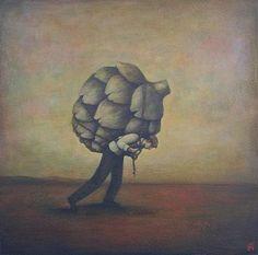 """Heavy burden of a big heart"" - Duy Huynh"