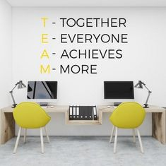 21 Professional Office Wall Decor Ideas - An office should be a fun place to work. Meanwhile, its design and the decoration still should keep the principal of professionalism. A fun and beautiful place for work will make the officers… Continue Reading → Corporate Office Design, School Office Design, Office Wall Design, Small Office Design, Office Interior Design, Office Interiors, Home Interior, Office Designs, Interior Modern