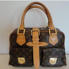 Tip: Louis Vuitton Handbag (Dark Brown) #bags #fashion