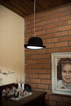 Luminária Chapéu pendente lustre