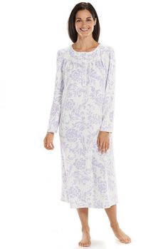 4d8bd26113 Croft  amp  Barrow® Pajamas  Microfleece Nightgown - Women s Sock Leggings