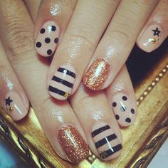 Nice neutral color! !  | See more nail designs at www.nailsss.com/...