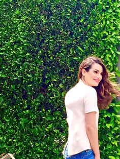 "Lea Michele shooting the cover for her second book ""You First: Journal Your Way to Your Best Life"""