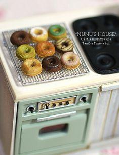 *ケーキクーラー* - *Nunu's HouseのミニチュアBlog*           1/12サイズのミニチュアの食べ物、雑貨などの制作blogです。