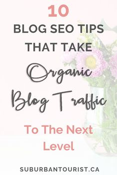 How do you increase organic traffic to your blog through Google and other search engines? I share 10 SEO tips  for bloggers that you need to know to optimize blog posts for SEO. Learn the essentials of good SEO for blogs that help you improve your rank on Google. This is one of the most important ways you can increase blog traffic quickly and effectively from the start. #bloggingtips #blogtips #blogging #blog #newblogger #bloggingforbeginners #seotips #searchengineoptimization #seo #seotools…