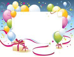 Birthday Transparent PNG Photo Frame