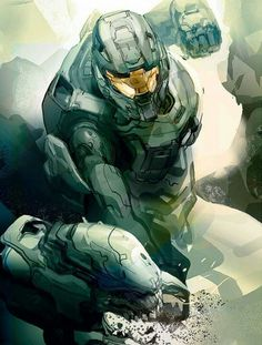 Master Chief vs Elite