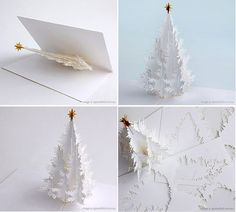 102 best cards images creative cards, folded cards, giftspaper christmas tree pop up card?