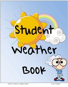 This download includes a printable book with important weather terms and vocabulary. It is set up as a graphic organizer that you can fill in with your students as you move through your unit on weather. When you have completed the book, students can use it as a study guide! *Teacher answer key is includedVocabulary and Concepts included:*types of clouds*weather map symbols*fronts*precipitation*weather instrumentsAND MORE!